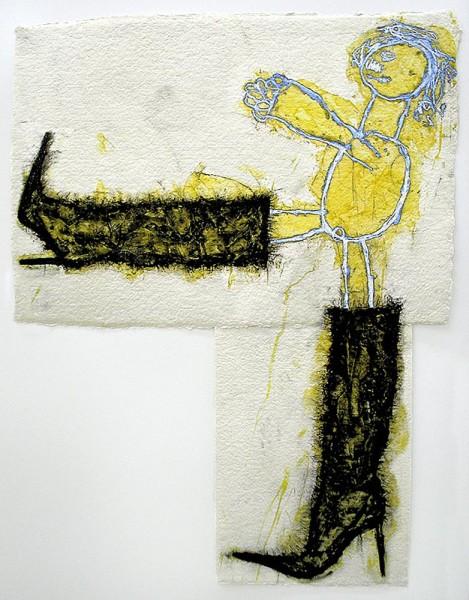 Ida Applebroog, Progeny Suite: Fendi, Chanel, Prada, Jimmy Choo, 2005