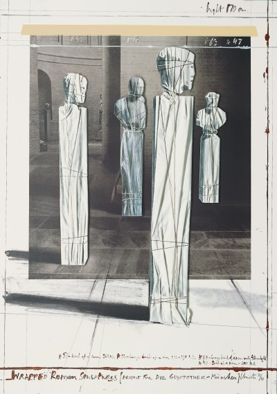 Christo - Wrapped Roman Sculptures
