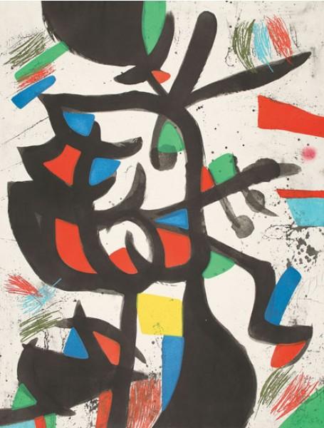 Joan Miró, La Marchande de Couleurs, 1981