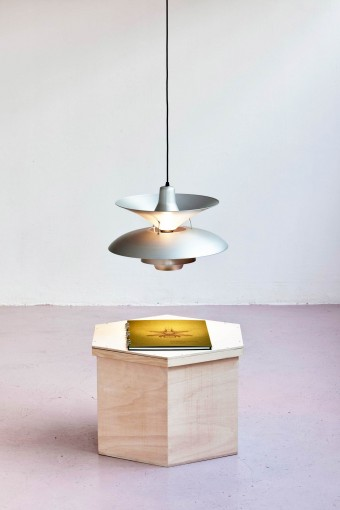 27 Homemade Henningsen Lamps (+ 1 Average Lamp) by Simon Starling