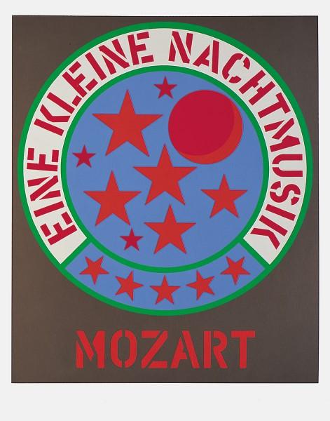 Robert Indiana, Mozart - Eine kleine Nachtmusik, 1971