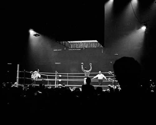 Ali in the Ring Wins Against Brian, London by Thomas Hoepker