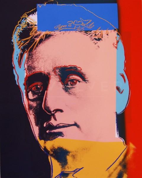 "Andy Warhol, Louis Brandeis (FS II.230), from the Portfolio ""Ten Portraits of Jews of the Twentieth Century"", 1980"