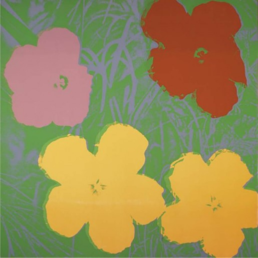 Andy Warhol, Flowers, 1970