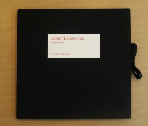Annette Messager, Interdictions, 2014