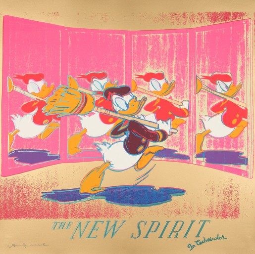 Andy Warhol, The new spirit (Donald Duck), 1985