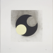 Set of Twelve Screen Prints by Nigel Hall RA and Twelve Poems by Andrew Lambirth in a Solander Box