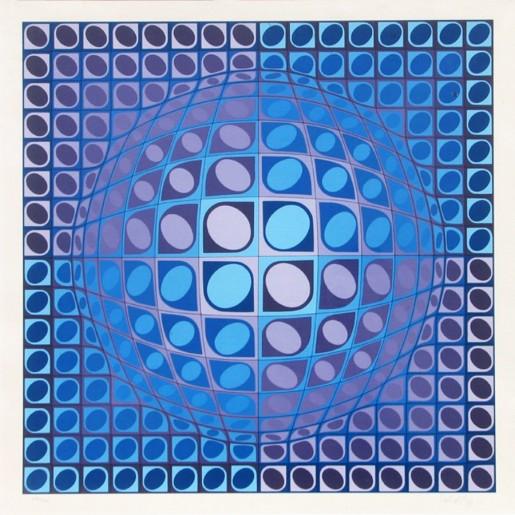 Victor Vasarely, Vega, 1980