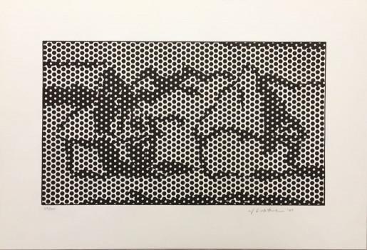 Roy Lichtenstein, Haystack #7, 1969