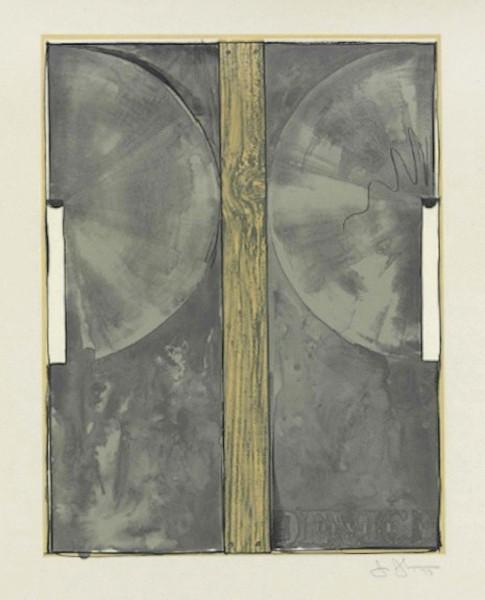 Jasper Johns, Device, 1971-72