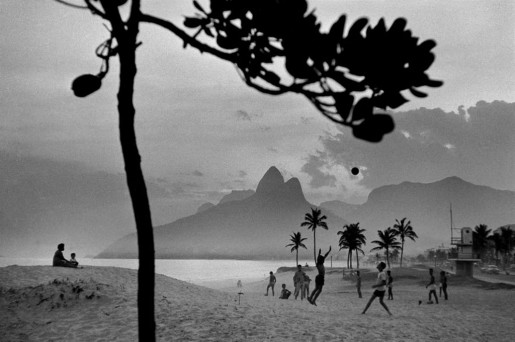 René Burri, Rio de Janeiro, Ipanema Beach, 1958