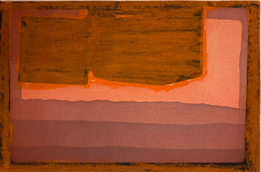 Howard Hodgkin, Bed, 1973-1978