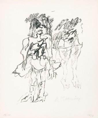 Two Women by Willem de Kooning