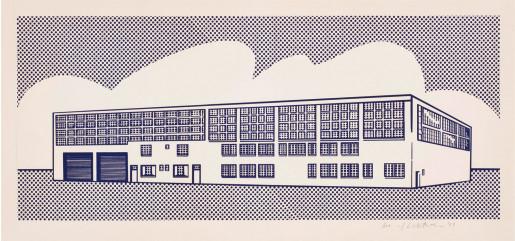Roy Lichtenstein, Real Estate, 1969