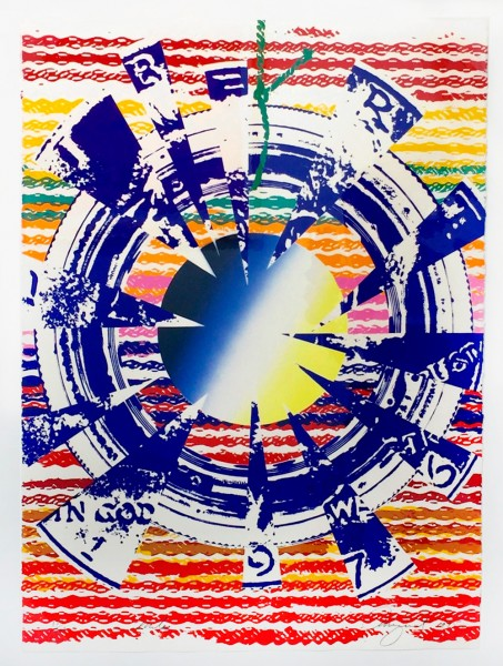 James Rosenquist, Miles, 1975