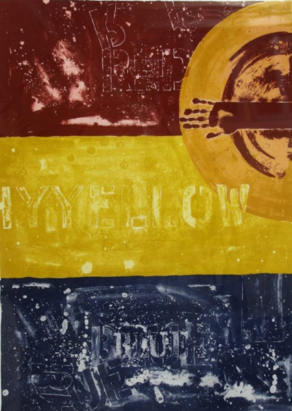 Jasper Johns, Periscope I, 1979