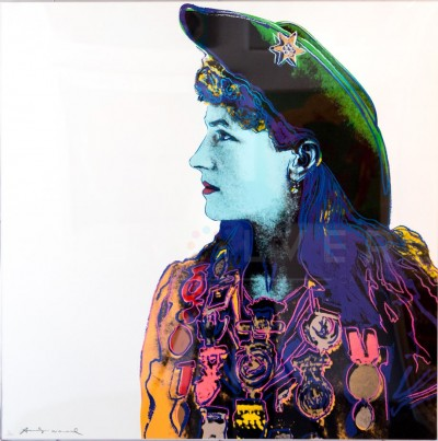 Annie Oakley (FS II.378), from the Cowboys and Indians Portfolio by Andy Warhol