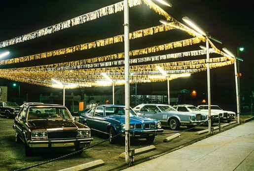 Willy Spiller, Used Car Sale, Pasadena, Los Angeles, 1981