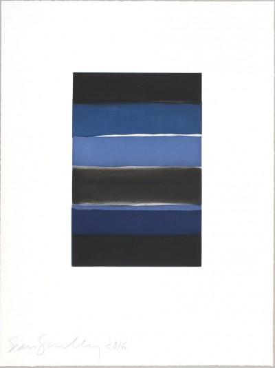 Sean Scully, Landline Blue, 2016