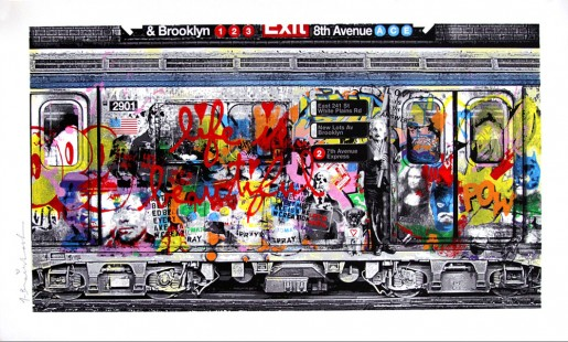 Mr. Brainwash, Chelsea Express Red, 2016