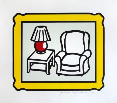Roy Lichtenstein, Red Lamp, 1992