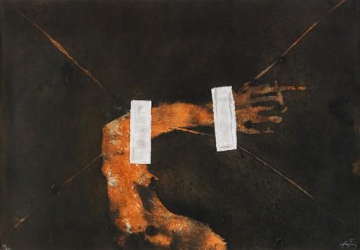 Antoni Tàpies, Empreinte, 1981