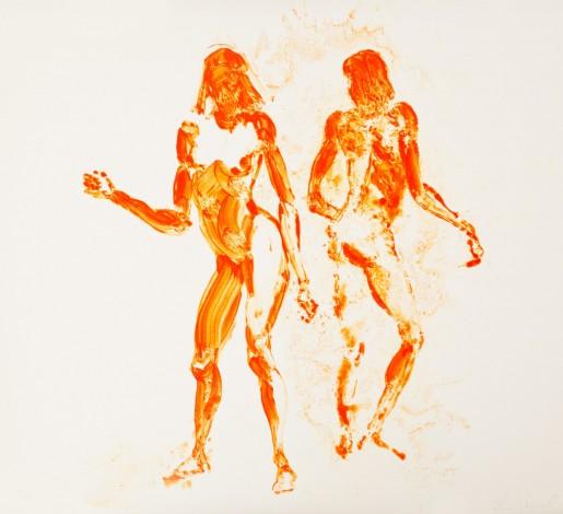 Eric Fischl, Two Girls Dancing, 2011