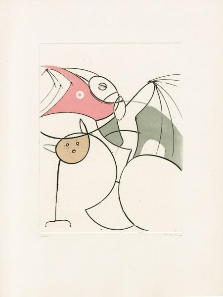 Max Ernst, Das Schnabelpaar, 1953