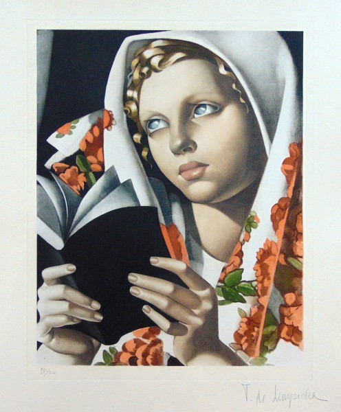 Tamara de Lempicka, The Polish Girl, 1933