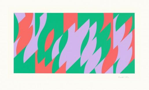 Bridget Riley, About Lilac, 2007
