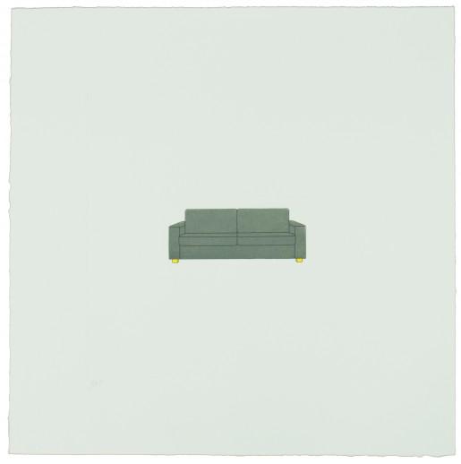 Michael Craig-Martin, The Catalan Suite II-Sofa, 2013