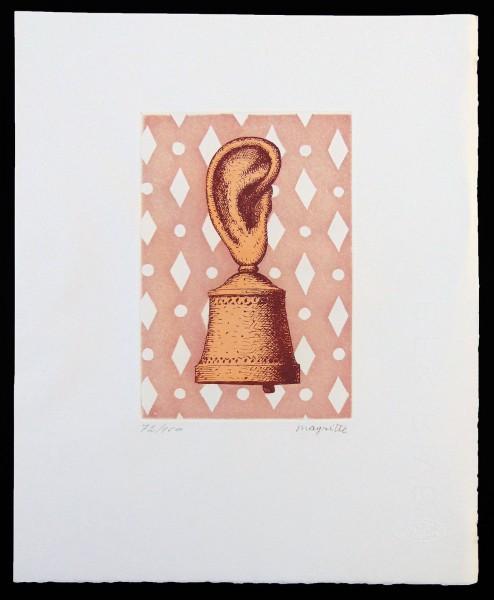 René Magritte, La Leçon de Musique or Son de Cloche, 1968