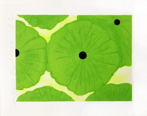 Donald Sultan, Six Greens, 2006