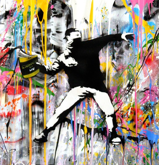 Mr. Brainwash, Banksy Thrower, 2018