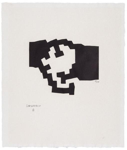 Eduardo Chillida, Harvard III, 1977
