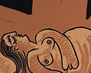 Femme endormie (Dormeuse) by Pablo Picasso