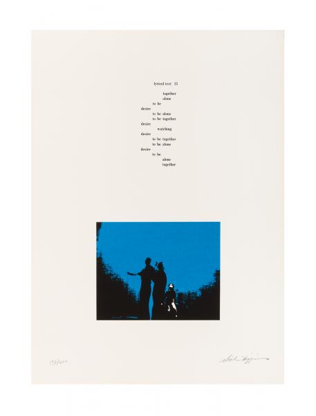 Dick Higgins, Grafiche Blu, 1990