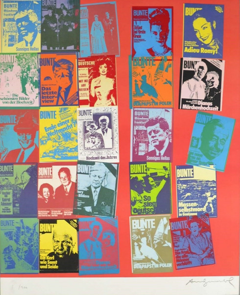 Andy Warhol, Magazine and History (FS II.304A), 1983