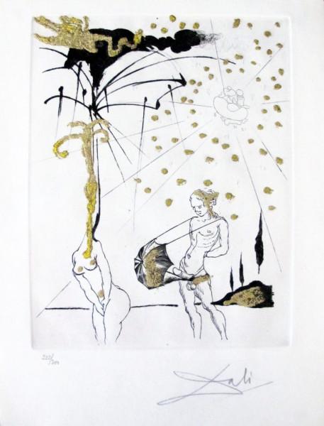 """Salvador Dalí, """"Le Poète Contumace"""" from """"Les Amours Jaunes"""", 1974"""