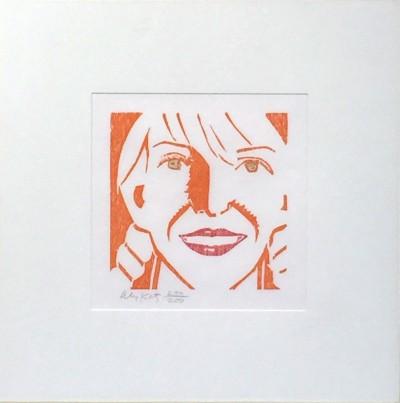 Alex Katz, Jessica, 1994
