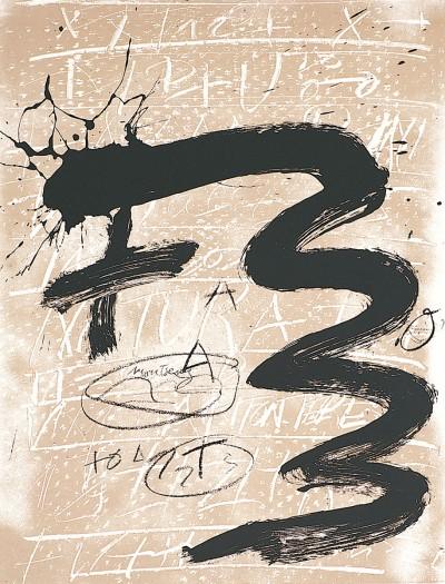 Antoni Tàpies, From the Portfolio Columbus, 1992