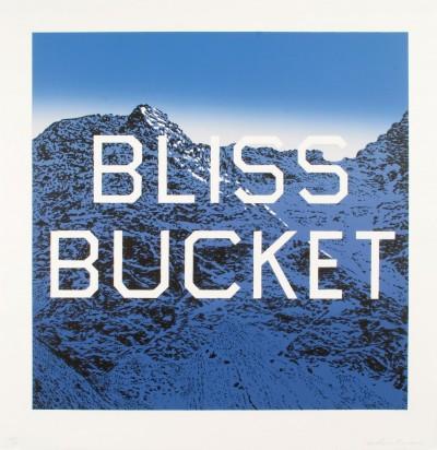 Ed Ruscha - Bliss Bucket