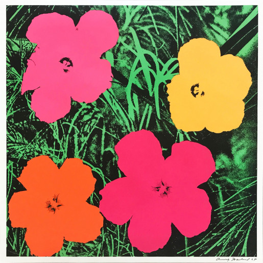 Andy Warhol, Flowers (FS II.6), 1964