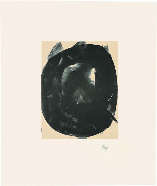 Robert Motherwell, Octavio Paz Suite: Nocturne V, 1988