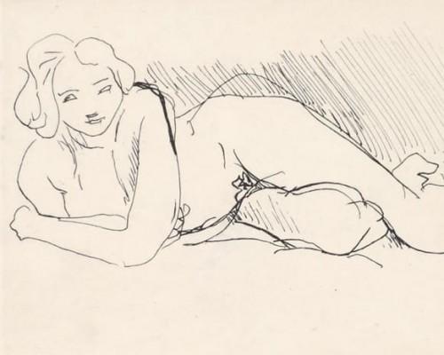 Nu couché by Henri Matisse
