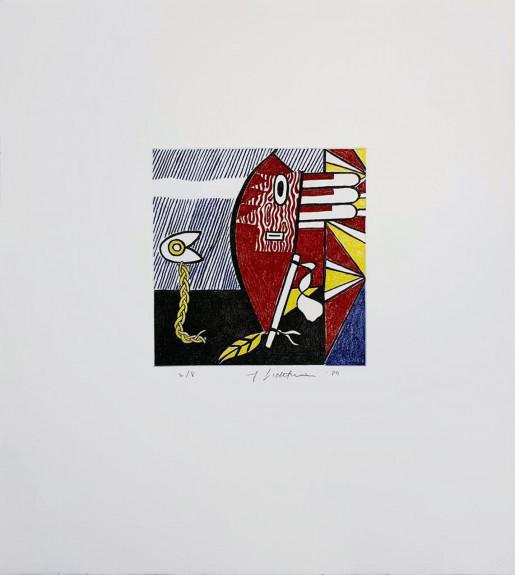 Roy Lichtenstein, Untitled I, 1980