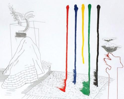 I Say They Are by David Hockney