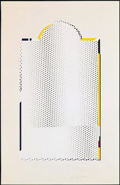 Roy Lichtenstein, Mirror #7, 1972