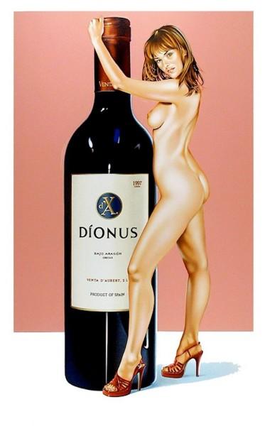 Mel Ramos, Dionus, 2002