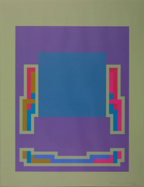 Robyn Denny, The Night Suite B, 1972